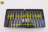 24SET/LOT Brand M.N Kajal Makeup eyeliner 6 Colors Crayon Waterproof Eyeliner Eyeshadow Pen Set 0.8gx6pcs Free Shipping A / B