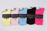 free shipping 5pairs/lot  all cotton classic business women's sock brand womens socks , socks for women , cotton sock