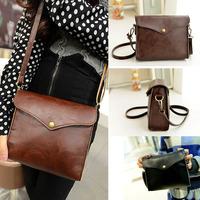 2015 Hot Sale Women's Handbag PU leather Messenger Bag Shoulder CrossBody Bag Satchel Purses Coin Bolsas Free Shipping Tonsee