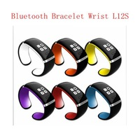 New Upgraded OLED Touch Screen Bluetooth Bracelet Wrist L12S Smart Watch for IOS iPhone Samsung and Android Smart Phone