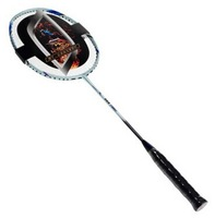 High rigidity full carbon badminton racket single shot full carbon Colorful Silver