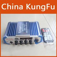 Bllue HY-600 Mini Power Hifi Audio Stereo Amplifier AMP For Home Boat Car MiC MP3 FM USB Auto Audio Accessories Free Shipping