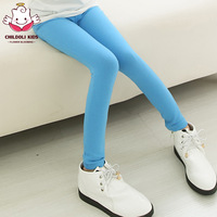2014 Children's pants female child legging spring and autumn female child trousers 100% cotton child baby pencil pants