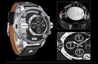 Martian man 2014 new arrival fashion Men's sports watch dual display multifunction LED waterproof watch free shipping D0089