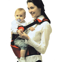 Newest wholesale baby hold waist belt baby carrier Hipseat Belt kids Infant hip Seat double-shoulder stool Backpacks Carriers