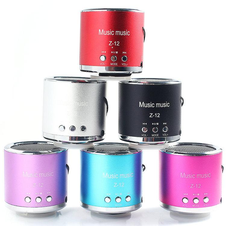 New Wireless Portable Mini Speaker Computer Amplifier FM Radio USB Micro SD TF Card MP3 Player(China (Mainland))