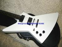 Left Handed Guitar White Explorer Electric Guitar Wholesale Guitars Top Musical instruments
