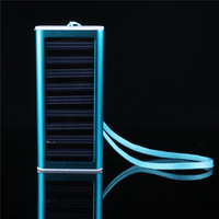 PB32,Solar Charger 800mAh Portable Solar Battery Small Size 9*4*1 cm Rechargable Pack Power Bank Free Shipping