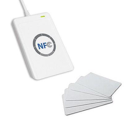 NFC ACR122U RFID Contactless Smart Reader & Writer + 5x IC Card(China (Mainland))