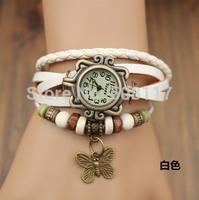 DHL free shipping to US  60pcs/lot Vintage angel charm bracelet watch women wristwatches quartz watch montre homme