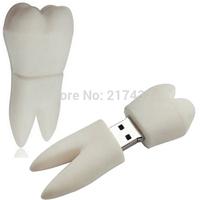 Novelty tooth mini cheapest pen drive  2gb 4gb 8gb 16gb 32gb 64gb Free shipping