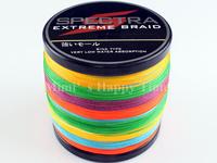 PE Dyneema Braided Fishing Line 500M Multicolor 8LB 0.10mm 547 Yard Spectra 4 Braid fishing line
