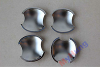 ABS Chrome Car door handle bowl fit for Kia Forte 4pcs per set free shipping !