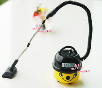 1/12 Dollhouse Miniature Yellow HATTY Vacuum Cleaner Cute Toy Gift for boy girl children kids BJD monster high