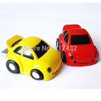 Fashion mini plastic colorful pen drive car cartoon shape usb flash drive 2gb 4gb 8gb 16gb 32gb 64gb Free shipping