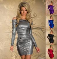 M L XL Plus Size 5 Color 2014 New Fashion Women Sexy Halter Strapless Summer Mini Casual Dress,Sexy Club Dress