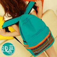 National canvas  bolsas mochilas feminina school bags teenagers preppy  travel laptop sport backpack for women girls SJ0135