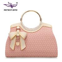 2015 Fashion Tote Crossbody Bag New Style Shoulder Bags Bow Women Handbag Hot Sale Women Messenger Bags Trendy Femininas Bolsas