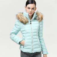 2014 New Winter Women Short Paragraph Thick Padded Cotton Jacket Women Slim  #510