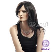 New 2013 100% Kanekalon Dark  Brown Synthetic Wig,Nawomi Wigs Supernova Sale Free Shipping