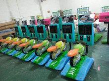 3D game machine Children's machine Racing Motorcycle coin operated child arcade game machines(China (Mainland))