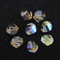 New arrival 2014 beautiful 2 colors 6mm & 8mm unique crystal swa austrian 20pcs/lot high quality original factory  beads sj007