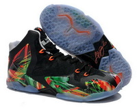 Cheap Lebron 11 Everglades Basketball Shoes For Mens and Kids Multi Color Lebrons XI MVP Elite Sneakers Women & Boys & Girls