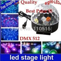 20W RGB LED Crystal Magic Ball Effect Light Disco DJ Stage Light Lighting Worldwide FreeShipping