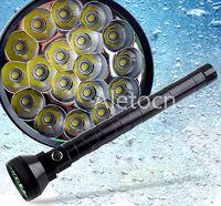 18xT6 23000-Lumens 18xCree XM-L T6 LED 18T6 Camping Flashlight Torch