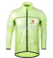 new 2014 multifunction bicycle raincoat jersey dust coat cycling bike jacket/rain coat windbreaker waterproof transparent soft