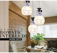Free shipping Modern brief led crystal lamp dinning room bedroom lamp bar lighting fashion romantic pendant lamps