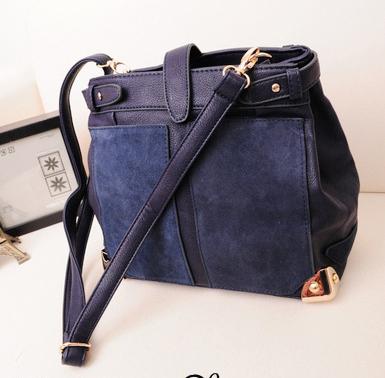 ladies promotion shoulder handbag chain Fashion handbags Patchwork(China (Mainland))