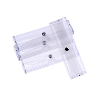 wholesale supply of plastic glasses box transparent box with reading glasses case