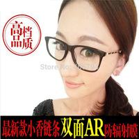 Blu-ray computer goggles anti radiation anti-fatigue female models fashion plate frame glasses with glasses