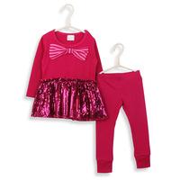 Autumn baby girl dress and leggings clothing set roupa infantil kids clothes sets conjunto de roupa girls clothing sets