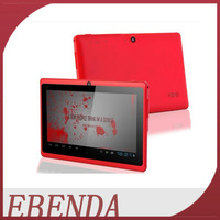 Cheapest tabet pc Q88 7inch Dual Core Android 4.2 Allwinner A23 1.5GHz Capacitive Screen 512M 4GB WIFI Dual Cam