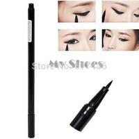 2014 New Design Waterproof Liquid Eyeliner Pen Make up Eye Liner Pencil Black 6546 3F