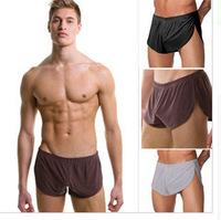 Arrow pants Shorts men 2014 brand  N2N Men's underwear low-waist breathable mesh Male house  loose sleeping boxers