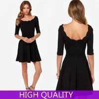 Summer Dress 2014 New Fashion Casual Women Dress Sexy O Neck Slim Party Dress Vestidos Evening Dresses Plus Size High Qulity