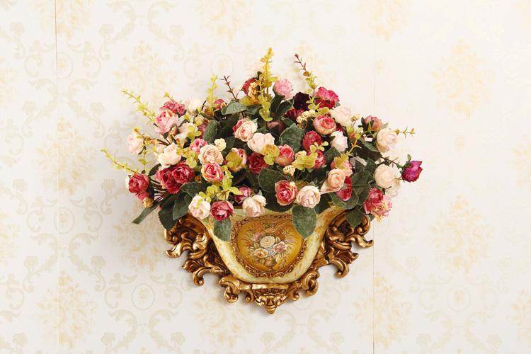 Indoor decoration,Hanging wall Home Furnishing ornaments, wall hanging vase(China (Mainland))