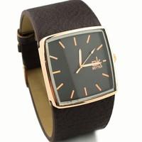 FREE SHIPPING  Women's Dress Watch Luxury Genuine Leather Strap Wrist Watch Quartz Watch For Women 2014 News