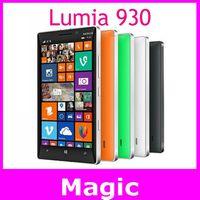 Unlocked Original Nokia Lumia 930 cell phone 5.0 inch 20MP Camera Quad-core 32GB ROM 2GB RAM free shipping