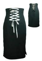 High Waist Pencil Skirt  Rockabilly Gothic  LC71009  FreeShipping