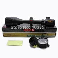 Free Shipping! 1Pc Gamo 3-12x50 AO Red + Green Illuminated Air Rifle Optics Hunting Scope Sight