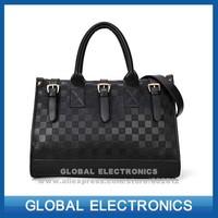 Brand New 2014 Hot Sale Fashion women handbag female PU bags candy color trend vintage Black shoulder bag
