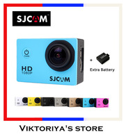 GoPro Hero 3 Style SJCAM SJ4000 Action Camera 170 Degree Wide-Angle lens Extreme Gopro Camera G-Senor Sport Camera/Helmet Camera