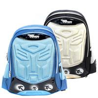 Blue Transformers bags for school backpacks boys mochilas new 2014 fashion brandT0001