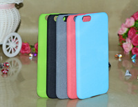 coating Fluff paint case for iphone 6 case pc cover