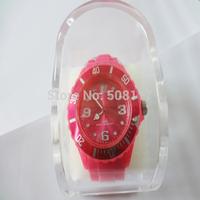 DHL free shipping to USA 102pcs/lot Cheap clear plastic watch box diplay box watch case storage box