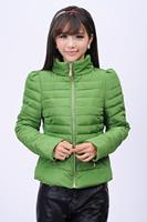 2014 Apparel Accessories Autumn Women Jacket Cotton Outerwear Warm Zipper Down Coat  Women Clothing Winter Women Coat